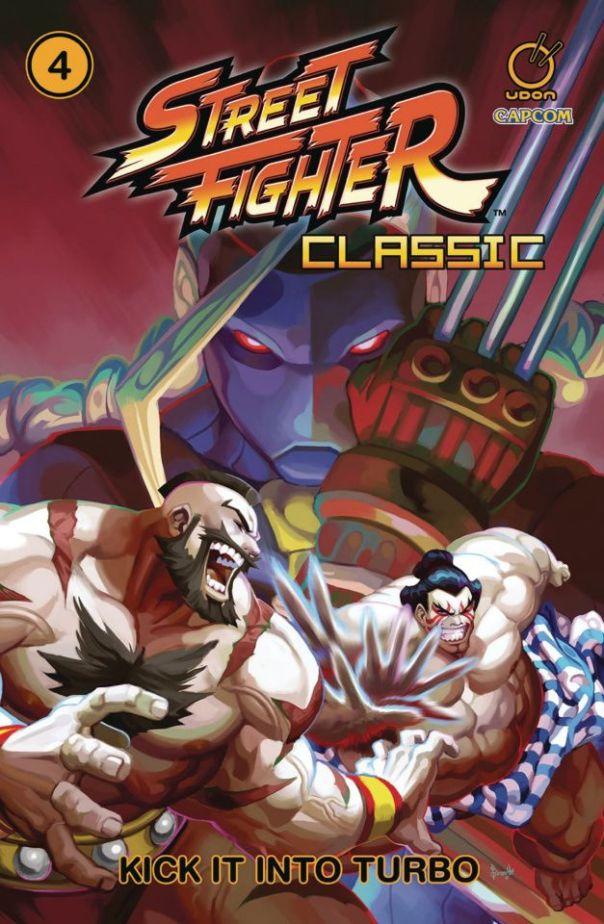 Komiks Street Fighter Classic