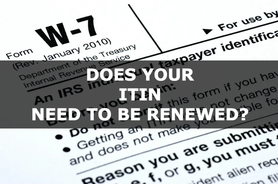 Do You Need Itin To File Your Taxes Us Tax Law Us Tax Iq