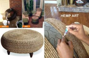 before after hemp art