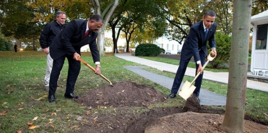 800px-Barack_Obama_and_the_White_House_Chief_Usher_Stephen_W._Rochon_plant_a_commemorative_tree-660x330