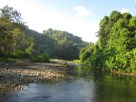 the riverbed on the way to Corcovado