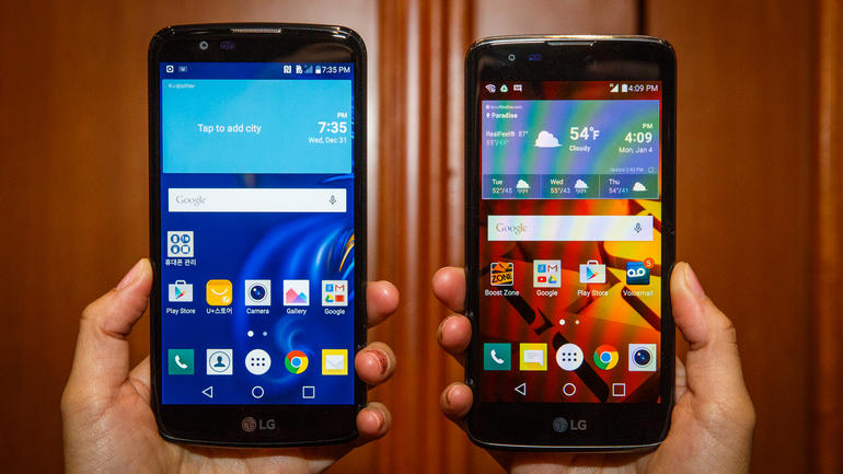 LG K7 and K10 Smartphone