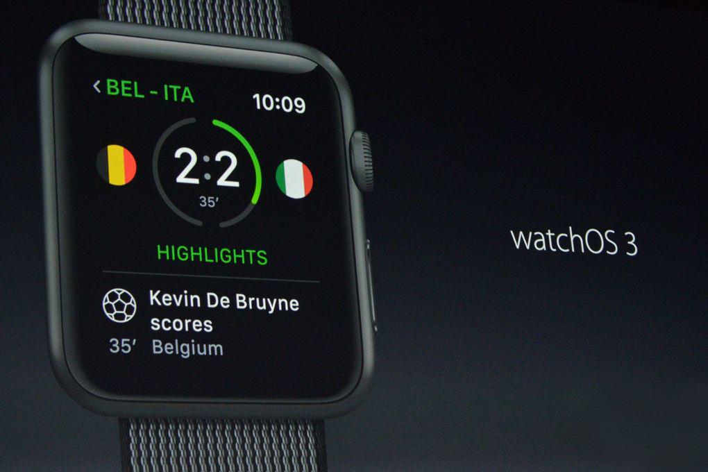 Apple WatchOS 3