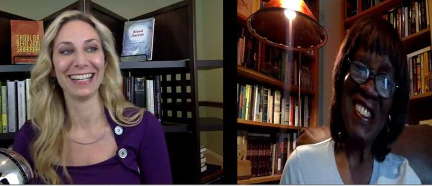 Melissa Studdard and Patricia Smith in interview