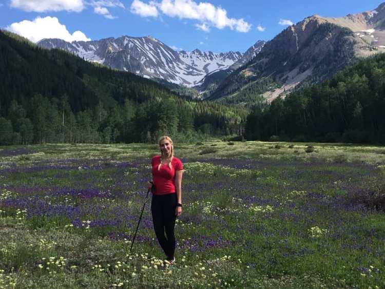 Melissa Studdard in Aspen