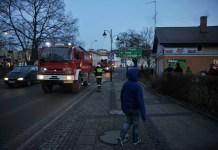 Pożar domu w centrum Ustki - ustka24.info