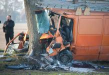 Wypadek samochodu koło Zaleskich - ustka24.info