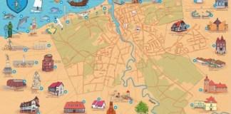 Mapa z atrakcjami LOT Ustka zwyciężyła w konkursie wydawniczym - ustka24.info