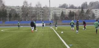 Piłkarze MKS Jantar trenowali na obozie sportowym w Pokrzywnej - ustka24.info