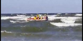 Na plaży w Ustce tonął mężczyzna - ustka24.info