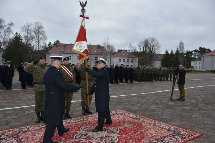 Nowy komendant Centrum Szkolenia Marynarki Wojennej w Ustce - ustka24.info