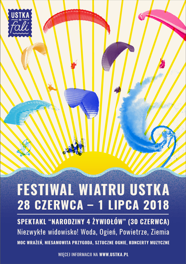 Festiwal Wiatru Ustka 2018 na rozpoczęcie tegorocznego sezonu letniego - ustka24.info