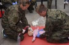 Kurs pierwszej pomocy medycznej dla nauczycieli klas mundurowych w CSMW Ustka - ustka24.info