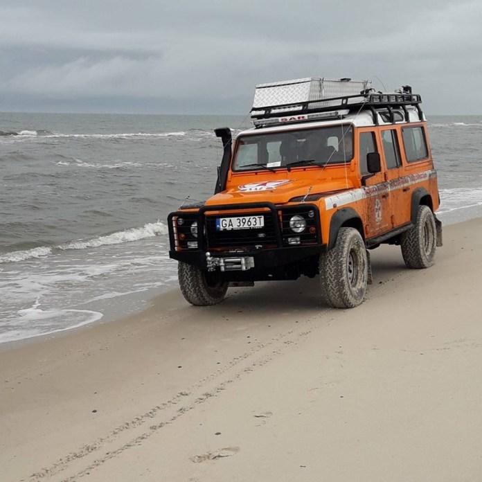 Ratownicy SAR z Ustki poszukiwali roztargnionej plażowiczki - ustka24.info