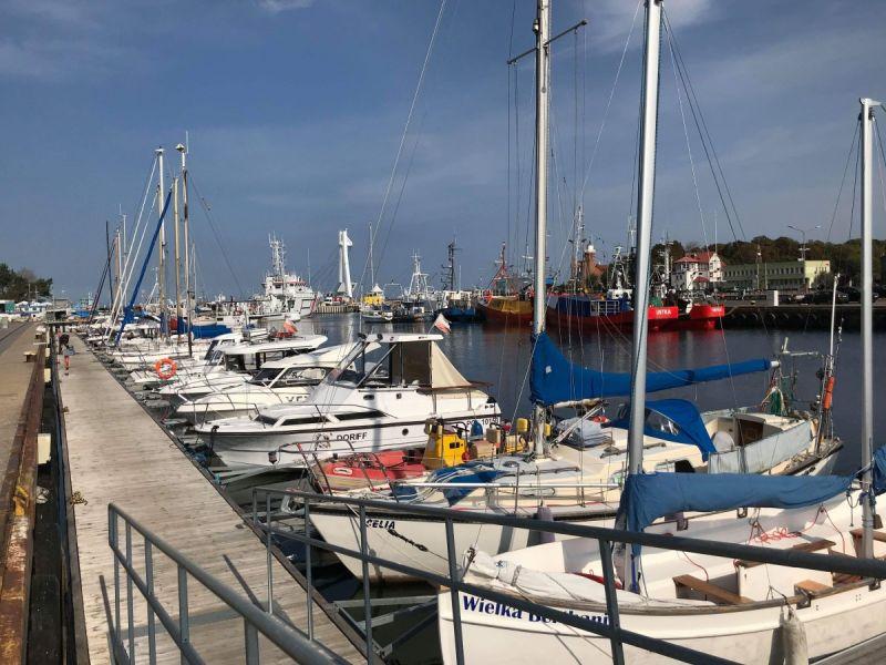 Rozbudowa portu urealnia budowę mariny jachtowej w Ustce - koncepcja