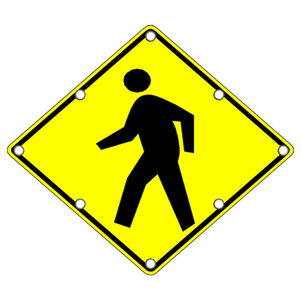 LED Pedestrian Crossing Sign