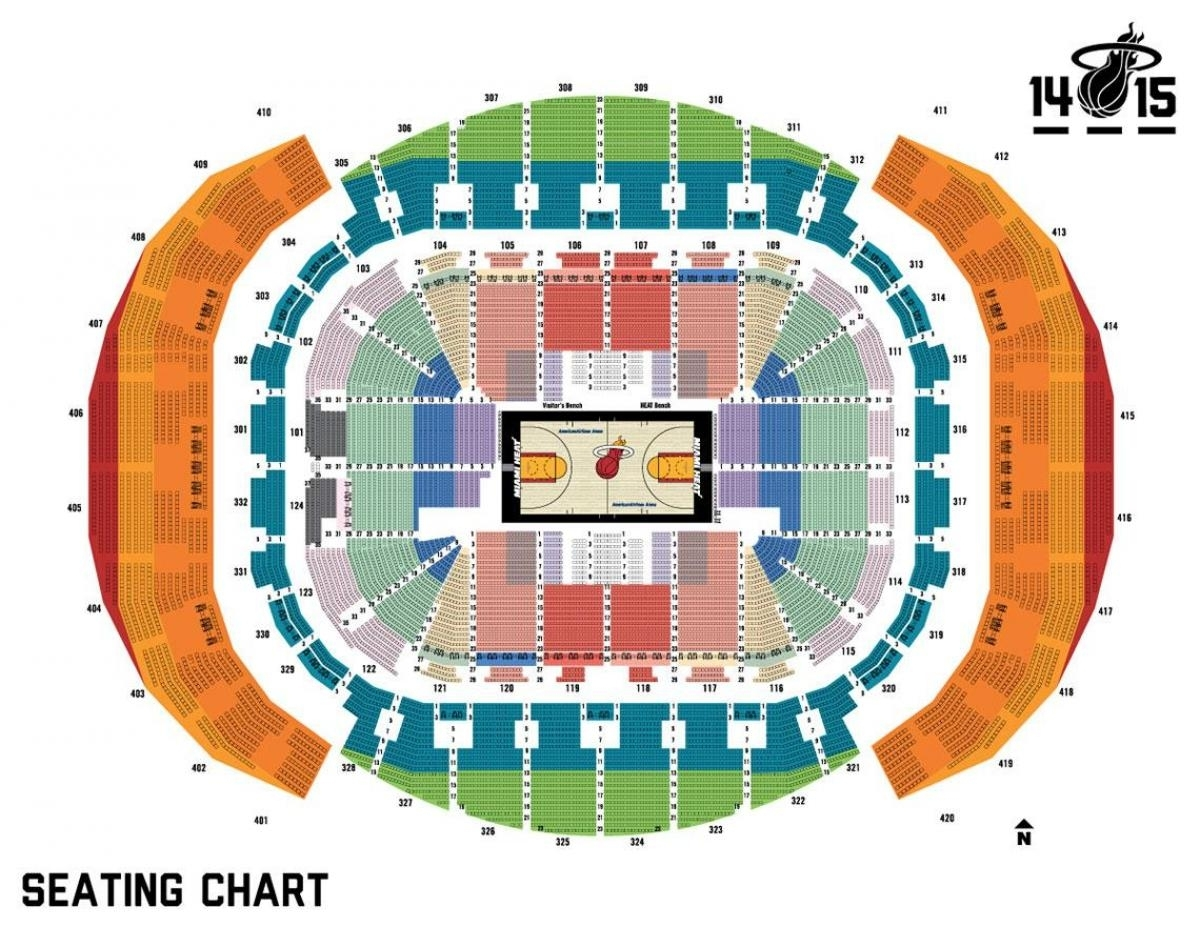 american airlines arena miami map - ustrave