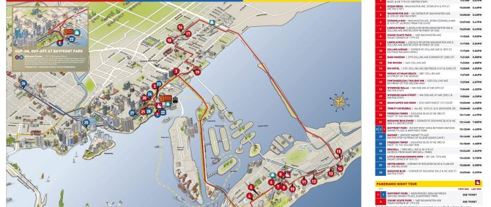 Miami Hop On Hop Off | Bus Route Map | Combo Deals 2020 with Miami Big Bus Tour Map