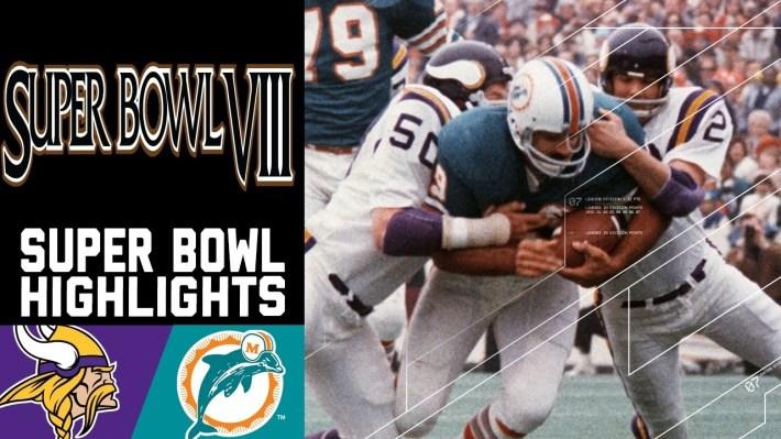 Super Bowl Viii Recap: Vikings Vs. Dolphins   Nfl regarding Miami Dolphins Ever Won A Superbowl