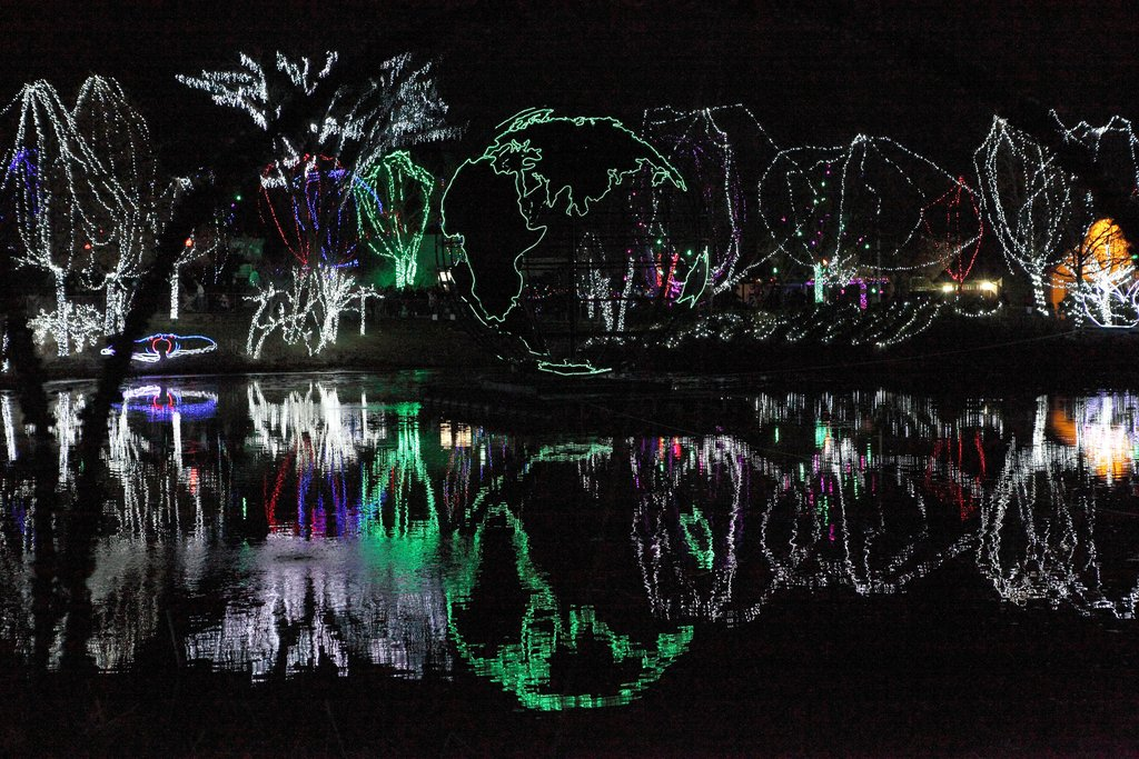 Fort Wayne Zoo Lights