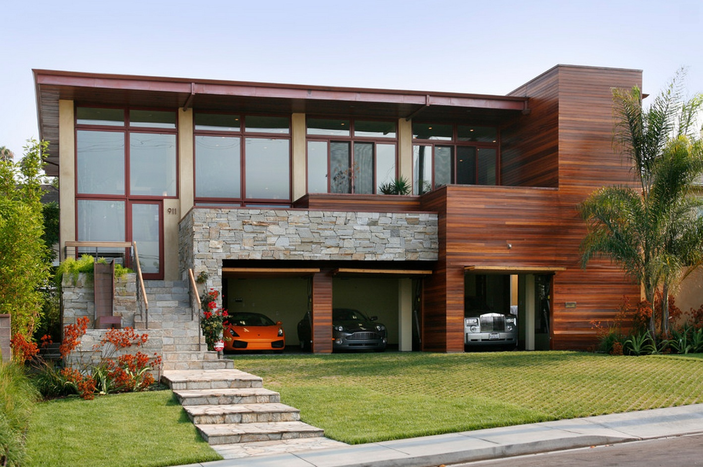 Delicately Masculine Beautiful House Is Masculine In