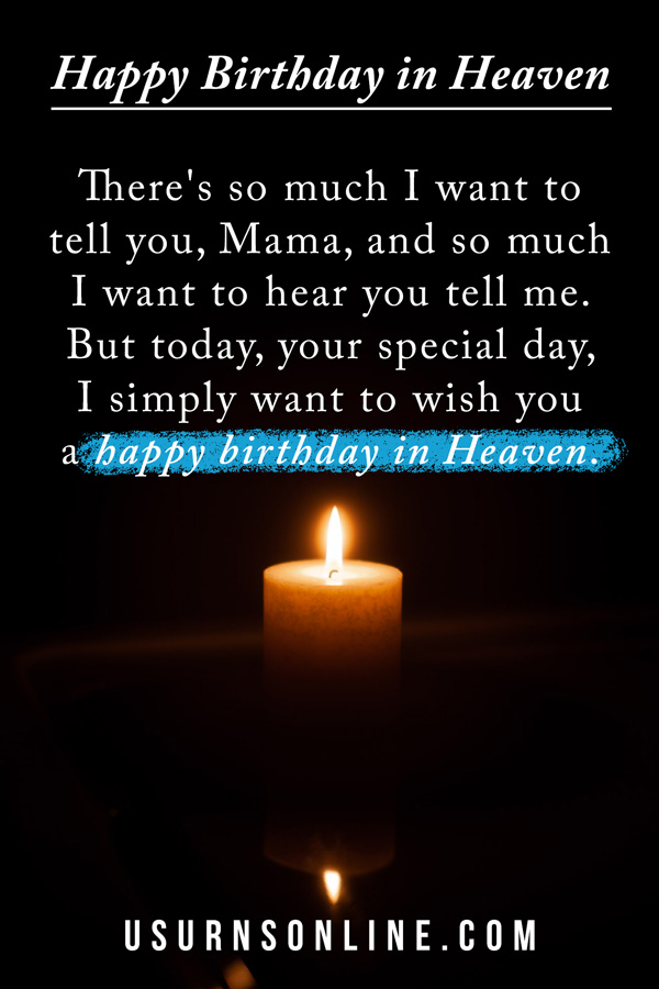 Happy Birthday To My Mom In Heaven Quotes : happy, birthday, heaven, quotes, Happy, Birthday, Heaven:, Remembering, Loved, Online