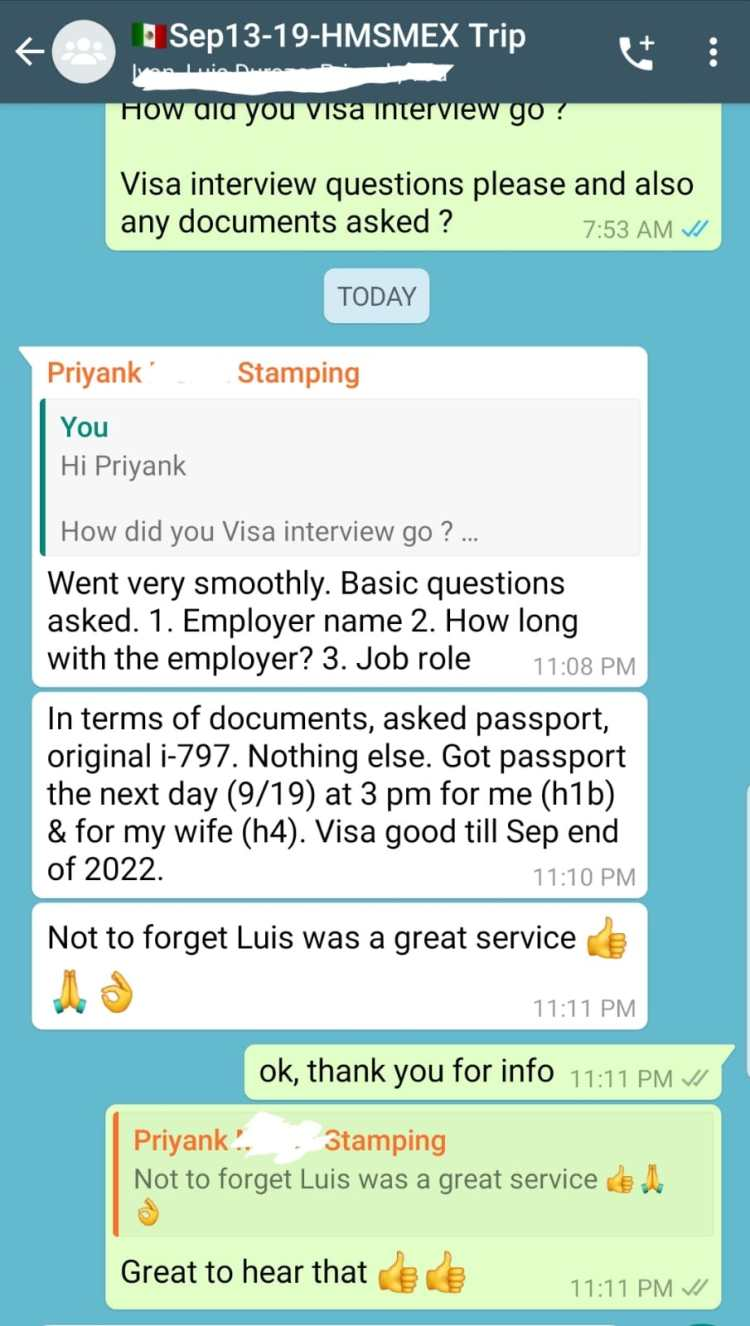 US Visa Application Fee Payment Services in BanAmex and Scotia Banks for H1B, H4, E3, L1A, L1B, L2, J, K, O visa holders + US Visa Renewal Stamping Interview Latest Experiences in Hermosillo, Mexico - Visa - Services - Agents Information