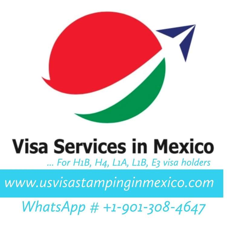E3  E3D Australian US Visa Renewal Interview Stamping in Mexico