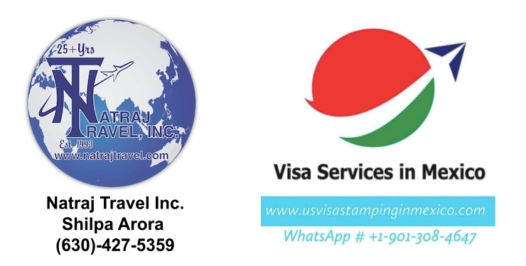 Travel to USA from India via Dubai 2 Mexico US Visa Stamping Visa Info H1B Appointment
