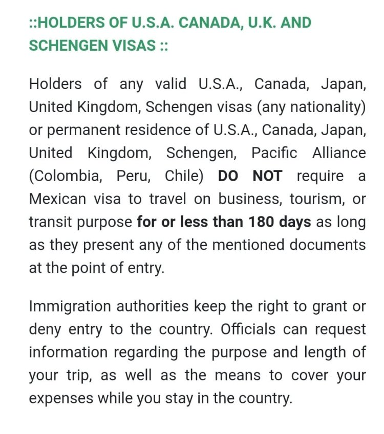 Mexican Visitor Visa 1 Mexico US Visa Stamping Visa Info H1B Appointment