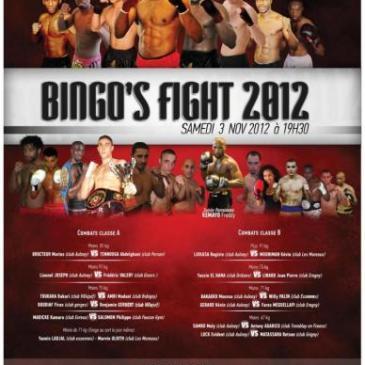 Victoire de Ben au Bingo's Fight 2012