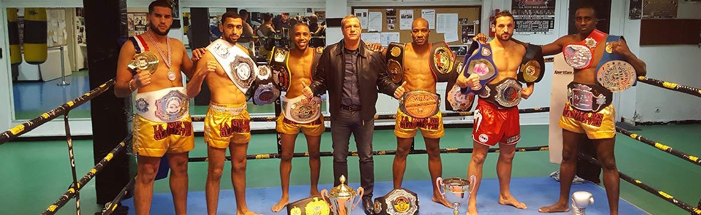 Nos Champions et leurs ceintures...No Pain No Gain!