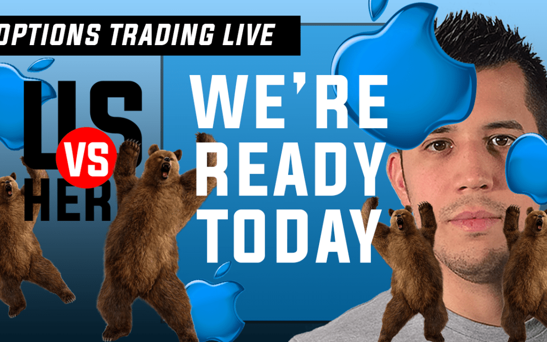 We're Ready Today – Options Trading Live – 2020 Stock Market Crash