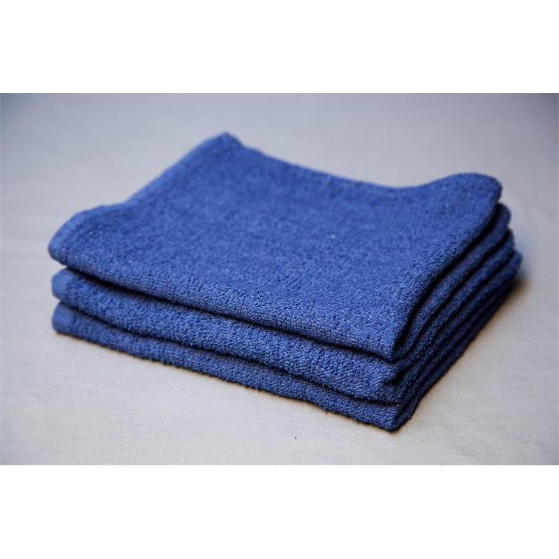 Blue Terry Bar Towels  Bulk Bar Towels  US Wiping