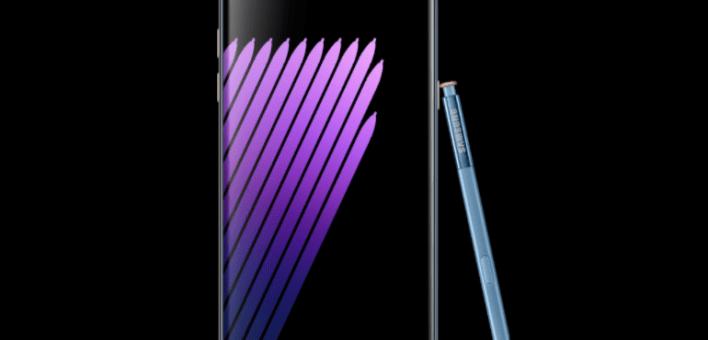 Samsung Galaxy Note 7 silver