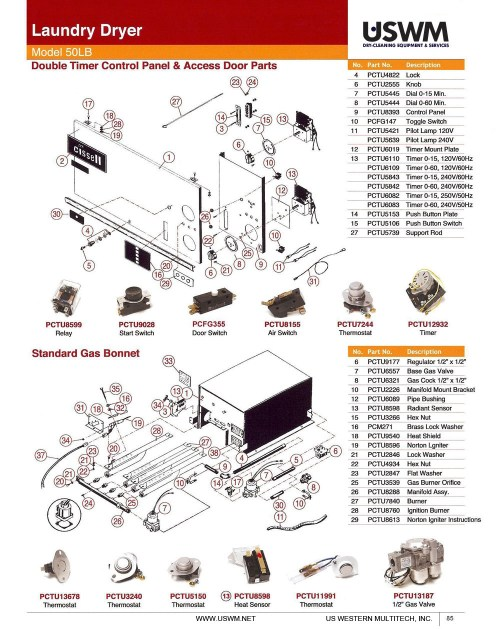 small resolution of cissell parts uswm southern california s dryclean roper dryer wiring diagram speed queen dryer wiring diagram