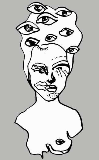 I see u portrait bust