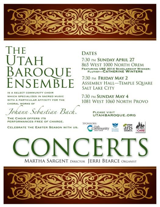 UBE Spring 2014 Poster