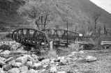 Old Hightway Bridge, Weber Canyon, Utah, USA