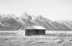 Cabin at Mormon Row – Antelope Flats, Wyoming