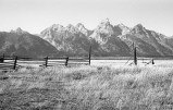 Tetons from Mormon Row – Antelope Flats, Wyoming