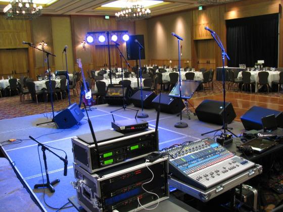 Sound System Setup Large Sound System Con