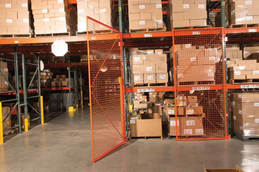 Security Cages Pallet Rack