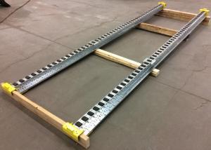 Pitch-Rail Pushback Pallet Rack rail