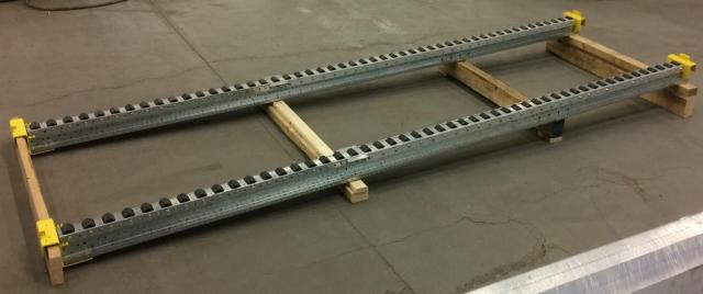 Pitch-Rail Pushback Pallet Rack rail