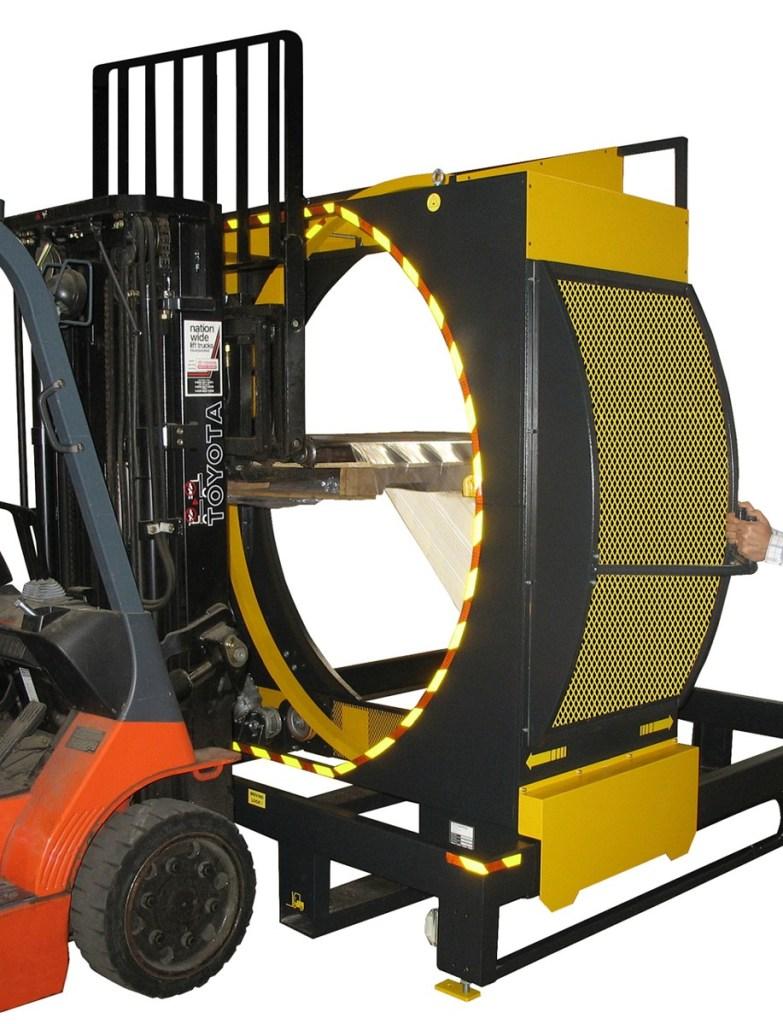 Stretch Wrap Machines for Pallets Orbital Stretch Wrap