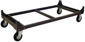 Rivet Shelving Mobile Shelf Cart Bases