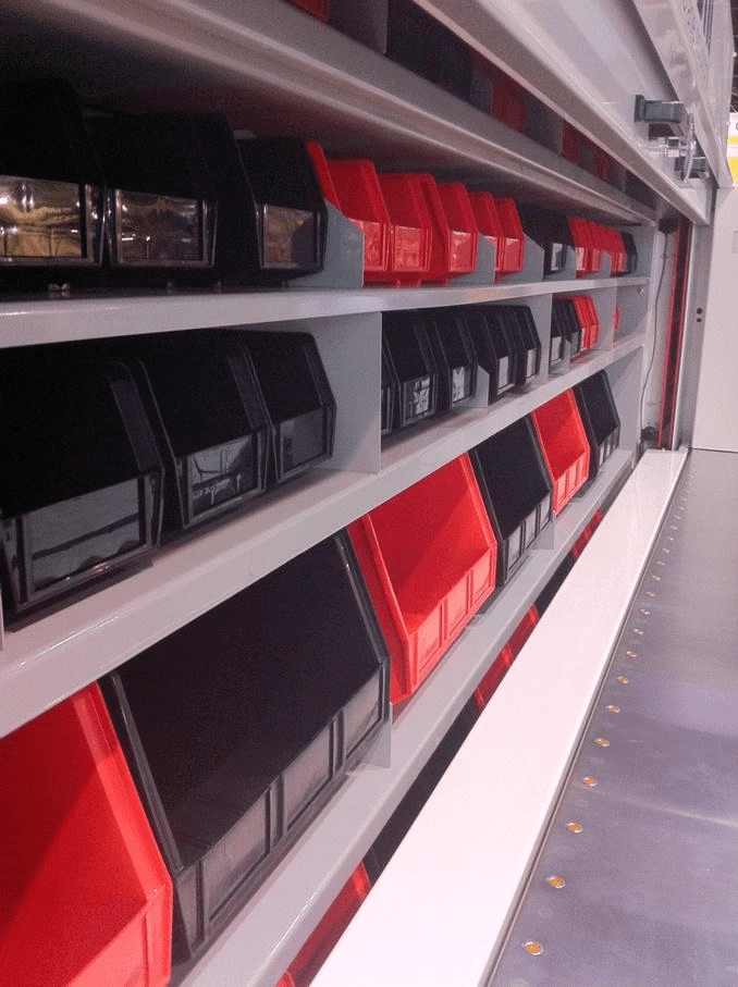 Vertical Storage Carousels bin storage