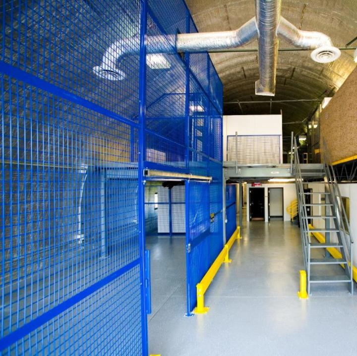 Wire Mesh Safety Partitions