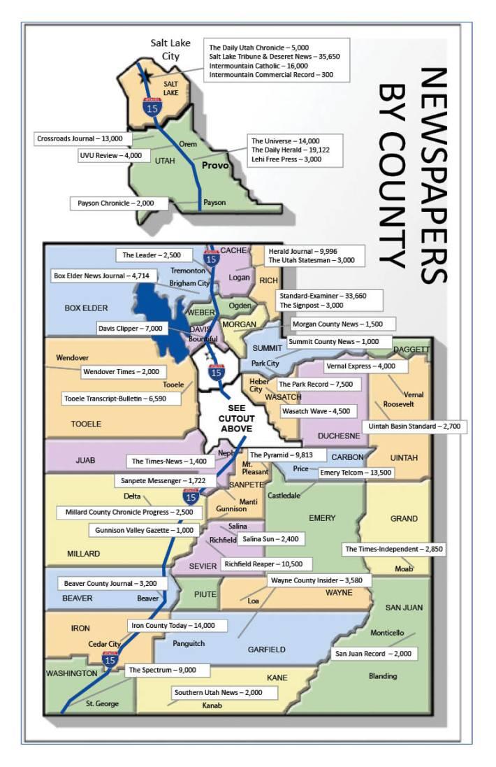 UTAH MAP 2020-COLOR w I-15